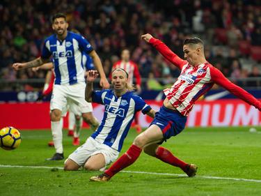 Atléticodank Fernando Torres jetzt Zweiter