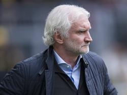 Mal wieder ganz schön angefressen: Rudi Völler