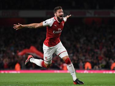 Olivier Giroud erzielte sein 100. Tor für Arsenal