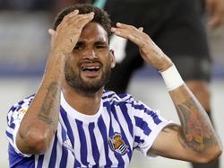 Willian José, delantero de la Real Sociedad. (Foto: Imago)