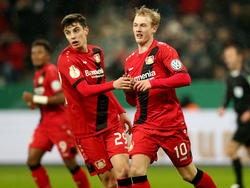 Julian Brandt traf gegen Werder Bremen doppelt