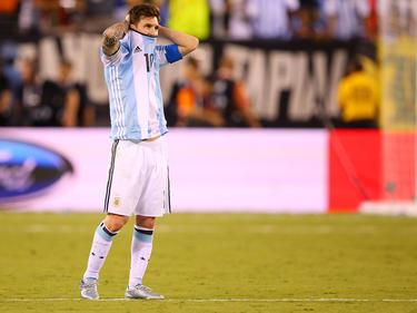 Für Lionel Messi und die argentinische Nationalmannschaft setzte es den nächsten Dämpfer