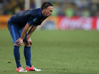 Enntäuschung: Franck Ribéry muss um seinen Lebenstraum bangen