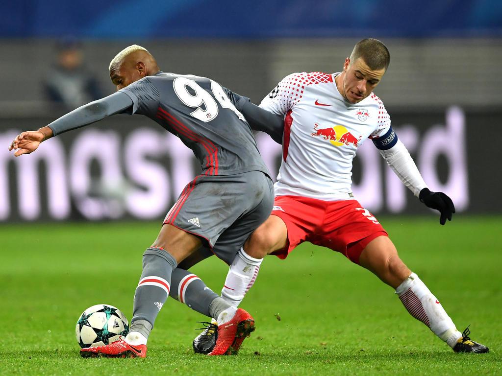 Diego Demme geht auch in Neapel wieder für Leipzig in die Zweikämpfe