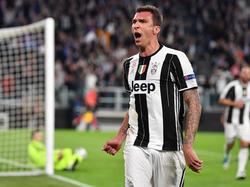 Mario Mandžukić hat seinen Vertrag bei Juventus bis 2020 verlängert