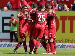 Kaiserslautern konnte den Abstieg verhindern