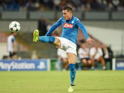 José Callejón erzielte beim 2:0-Sieg des SSC Neapel gegen OGC Nizza einen Treffer