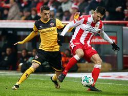 Dynamo Dresden hat das Auswärtsspiel in Berlin gewonnen