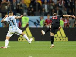 Croacia goleó a la selección argentina. (Foto: Getty)