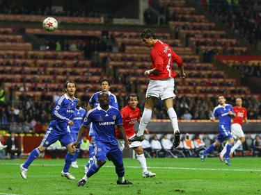 CL-Finale 2008: Cristiano Ronaldo trifft zum 1:0