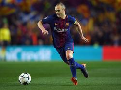 Andrés Iniesta könnte Barcelona im Sommer verlassen