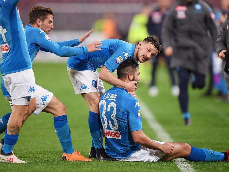 Der SSC Neapel hat sich im Titelkampf zurückgemeldet