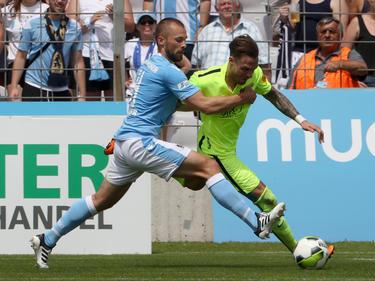 Das Rückspiel in München endete mit einem 2:2-Unentschieden
