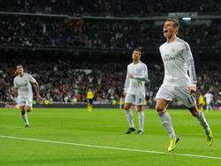 Gareth Bale (r.) und Cristiano Ronaldo (M.) fallen aus