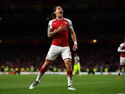 Héctor Bellerín traf für Arsenal