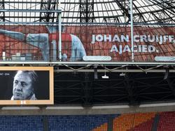 Johan Cruyff wordt geëerd in de Amsterdam ArenA. (26-03-2016)