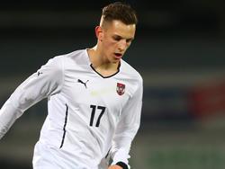 Alex Kogler hat auch schon Länderspielerfahrung