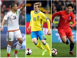 Deutschland bekommt es mit Mexiko, Schweden und Südkorea zu tun