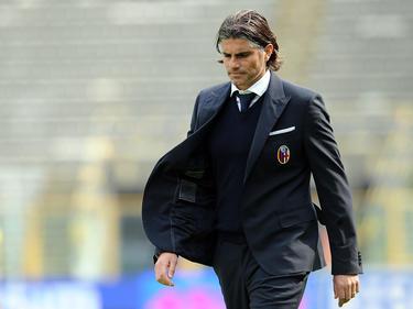 Diego López tiene la difícil misión de sacar del atolladero al Cagliari. (Foto: Getty)