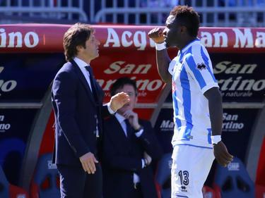 Muntari en un duelo ante el Cagliari del pasado 2017. (Foto: Getty)