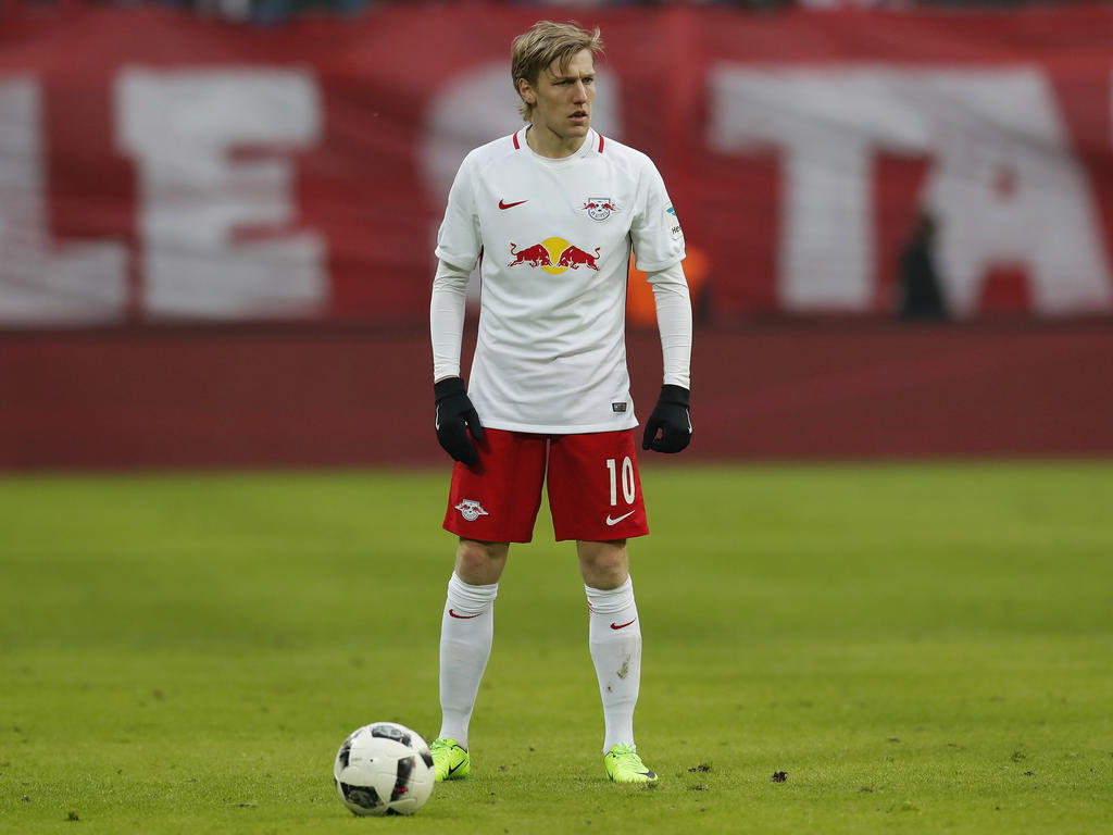 Emil Forsberg wird auch in der kommenden Saison in Leipzig spielen