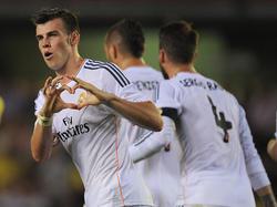 Oft konnte Gareth Bale für Madrid bislang nicht jubeln