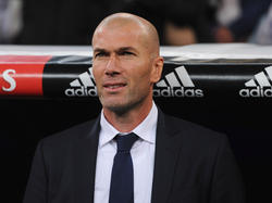 Blickt erwartungsvoll auf die Partie am Mittwoch gegen die Bayern: Real-Coach Zidane