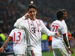 James está muy contento en el Bayern. (Foto: Getty)