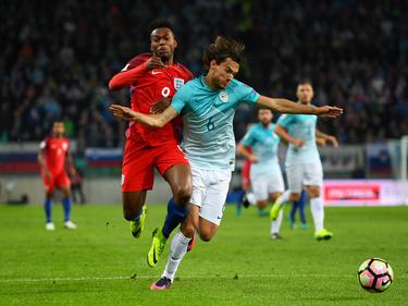 Inglaterra intentó manejar el partido, pero Eslovenia se mostró aguerrida. (Foto: Getty)