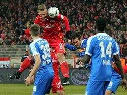 Sebastian Polter erzielte den Ausgleich für Union Berlin gegen den VfL Bochum