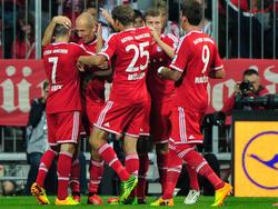 Die Bayern sind 2013/2014 erneut Topfavorit auf die Meisterschaft