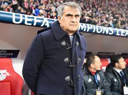 Besiktas-Coach Senol Günes freut sich auf die Partie gegen München