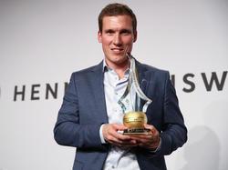 Hannes Wolf wurde vom DFB ausgezeichnet