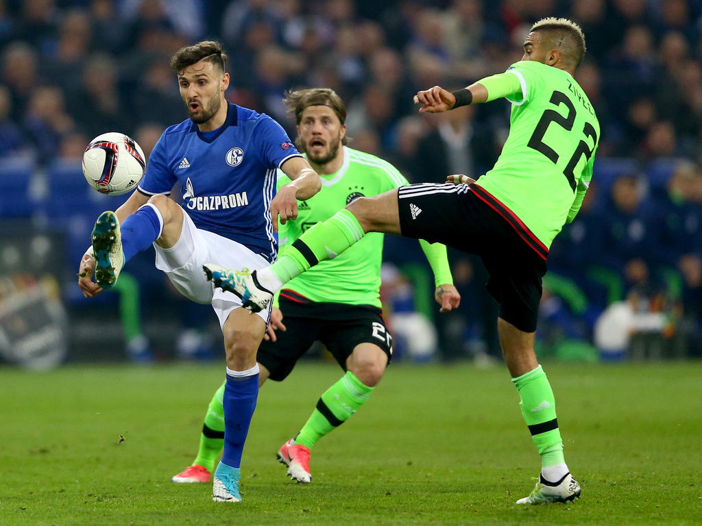 El Ajax sufrió hasta el final, al igual que el Lyon (Foto: Getty)