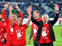 Trainer Carlo Ancelotti sprach wehmütig über den Abschied von Philipp Lahm