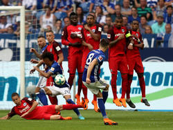 Die Eintracht hatte gegen Schalke kaum eine Chance