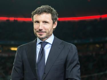 Als oud-speler van beide clubs wordt Mark van Bommel uitgenodigd voor de Champions League-wedstrijd Bayern München - PSV. (19-10-2016)