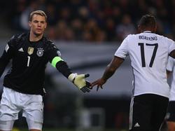Jérôme Boateng rechnet mit einem WM-Einsatz von Manuel Neuer