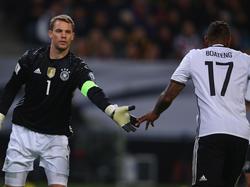 Schaffen sie es rechtzeitig? Manuel Neuer (l.) und Jérôme Boateng