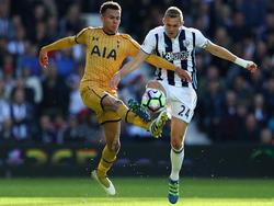 Tottenhams Delle Alli (l.) sicherte seinem Klub immerhin einen Punkt