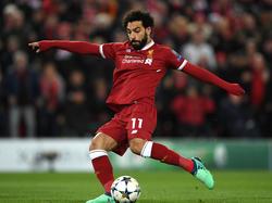 Mohamed Salah kam im Sommer von der AS Roma zum FC Liverpool