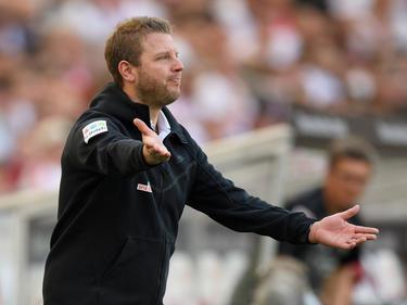 Weiter voll motiviert:Werder-Coach Florian Kohfeldt