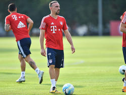 Franck Ribéry ist wieder auf dem Platz aktiv