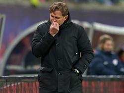 RBL-Coach Ralph Hasenhüttl reagierte dem Remis gegen Main verschnupft