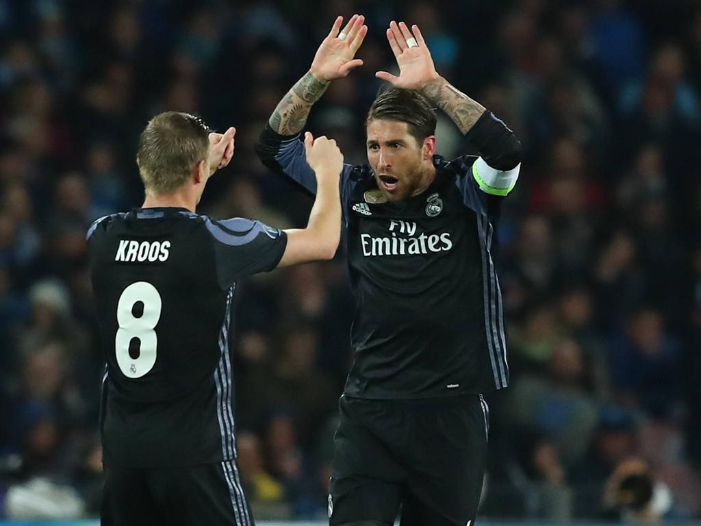 Toni Kroos und Sergio Ramos ergänzen sich perfekt