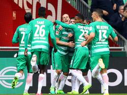 Werder jubelt über den Derbysieg gegen den HSV
