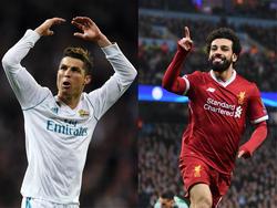 El partido será también un duelo de delanteros: Salah y Ronaldo. (Foto: Getty)