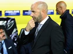 BVB-Coach Peter Bosz war mit dem Spiel seines Teams nicht zufrieden