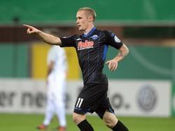Sven Michel erzielte das 1:0 für den SCP