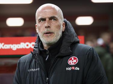 FCK-Coach Michael Frontzeck musste eine Niederlage seines Teams einstecken